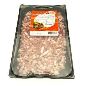 Bacon tärnat, 400g